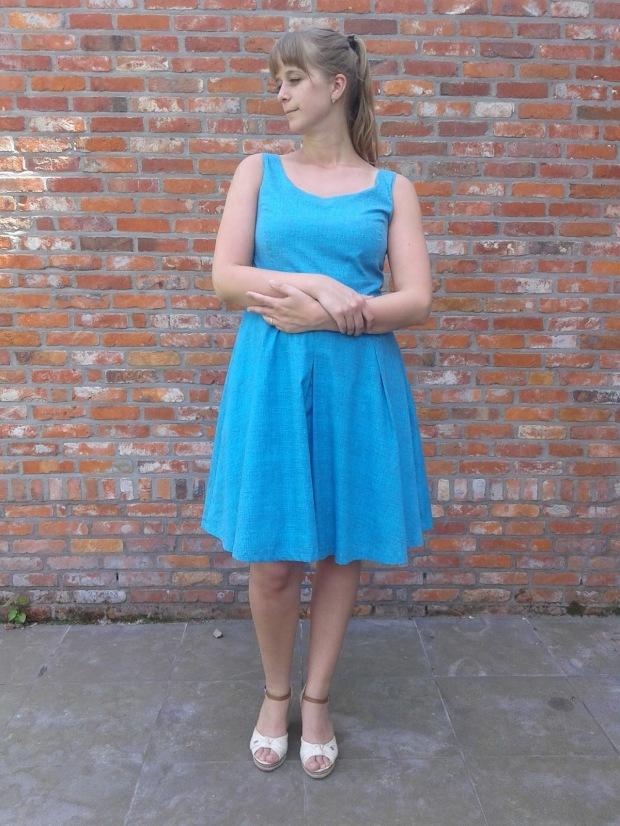 Blauw kleedje