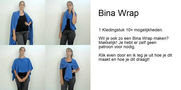 Maak het zelf Bina Wrap